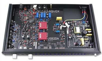 AQVOX USB2D/A MKII   Digital to Analog Converter (DAC)