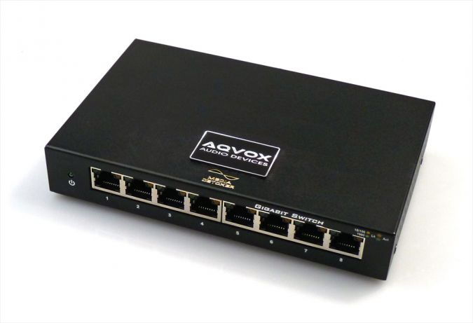 AQ-SWITCH SE  audiophiler High-End Netzwerk-Switch LAN Isolator