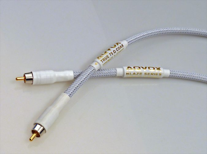 AQVOX COAX BLAZE 75 Ohm - Coaxial Digital Cable